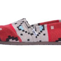 Amazon.com: Toms Womens Classic Tribal Knit 001190B12-Triba: Shoes