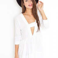 Valley Of The Dolls Dress - White - NASTY GAL
