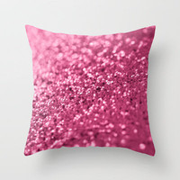 Candied Pink... Throw Pillow by Lisa Argyropoulos | Society6