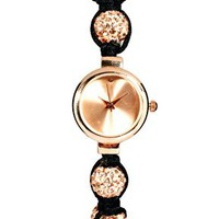 Rose Gold Shamballa Watch