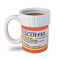 Big Mouth Toys The Prescription Coffee Mug: Amazon.com: Kitchen & Dining