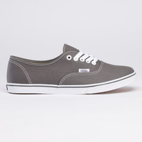Canvas Authentic Lo Pro
