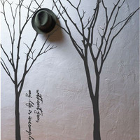 Vinyl Wall Decals Wall Sticker Tree Decals murals by walldecals001