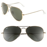 Ray-Ban 58mm Aviator Sunglasses | Nordstrom