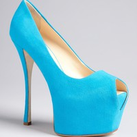 Giuseppe Zanotti Peep Toe Platform Pumps - Liza | Bloomingdale&#x27;s
