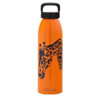 Liberty Pete Brown Giraffe Water Bottle 24-Ounce