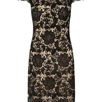 Black lace dress - Dresses  - Clothing