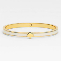 kate spade new york 'spade' thin hinged bangle | Nordstrom