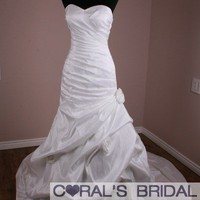 WD11045B Custom made mermaid sweetheart wedding dress - Coral's Bridal