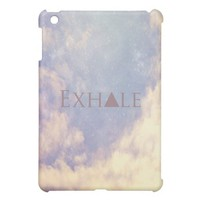Exhale Mini iPad Case from Zazzle.com