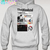 xo the weeknd hoodie thursday album cover xo sweatshirt ovoxo xo the weeknd mix