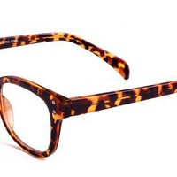 Edith Eyeglasses with Multicolour Acetate Rectangle Full Frame/Rim Frame