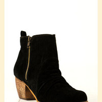 Wayne Bootie in Black