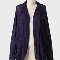 beaut violette open cardigan at ShopRuche.com