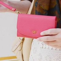 Bow Smart Pouch Purse for Smart Phones - Pink