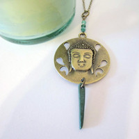 Buddha Necklace - Pendant by 636designs
