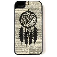 iPhone 4 Case - Hardshell Protective iPhone 4/4s Case - Dreamcatcher On Dictionary