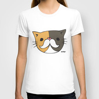 Pudgestache (Limited Edition Print - PudgeTheCat.com) T-shirt by Cats Of Instagram | Society6