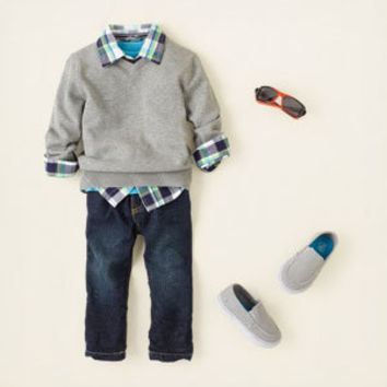 baby boy - outfits - layer player