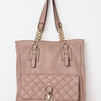 Kimchi Blue Quilted Chain Tote Bag