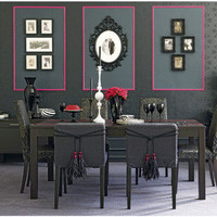 Dramatic dining room | Add drama to your dining room in 5 st... - Polyvore