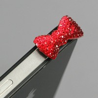 Red Bow Dust Plug