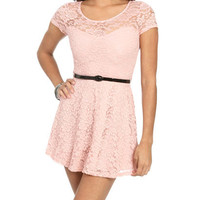 Illusion Sweetheart Lace Dress | Shop Dresses at Wet Seal