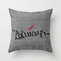 Harry Potter Minimalist Poster 03 Throw Pillow by Misery | Society6