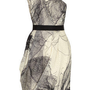 Lela Rose | One-shoulder silk-blend organza dress | NET-A-PORTER.COM