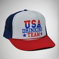 'USA Drinking Team' Trucker Hat