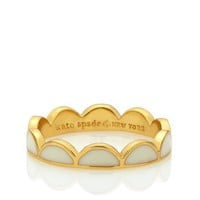 kate spade | scallop ring
