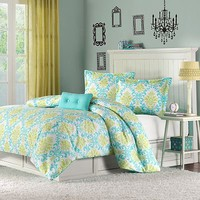 MiZone Paige 4-pc. Comforter Set - Full/Queen