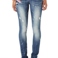British Flag Skinny Jean