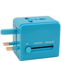 Flight 001 | UNIVERSAL ADAPTER BLUE - All Products