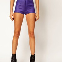 ASOS Hotpants in High Shine at asos.com