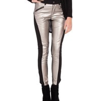 Metallic Front Pants - 2020AVE