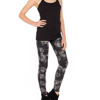 Magazine Coated Jeggings - 2020AVE