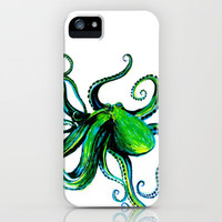 Octopus iPhone Case by Ashley Jones | Society6