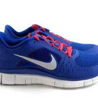 Nike Free Run 3 Blue/Red/White Running Womens Shoes Sneakers 510643 416