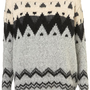 Knitted Chunky Fairisle Jumper