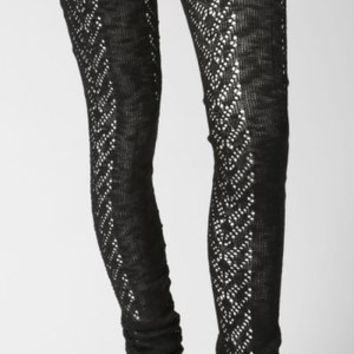 QueenofHearts - Thigh High Knit Leggings