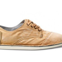 Tan Bastien Men&#x27;s Desert Oxfords | TOMS.com