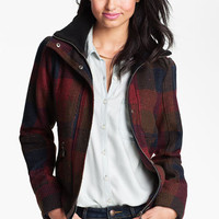 Coffee Shop Textured Bomber Jacket (Juniors) | Nordstrom