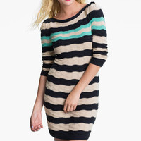 BP. Texture Knit Sweater Dress (Juniors) | Nordstrom