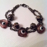 Evil Eye Bracelet Unique Handmade | eBay