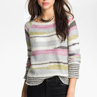 Free People 'Montmartre' Stripe Sweater | Nordstrom