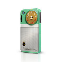 Apple iPhone4S Retro Transistor Protective Case Cover - GULLEITRUSTMART.COM