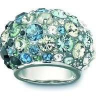 Swarovski crystal ring image, Swarovski crystal ring photo