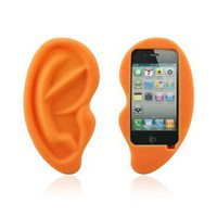 Amazon.com: HOTER Cute Big Ear Apple Iphone 4/4S Case: Sports &amp; Outdoors
