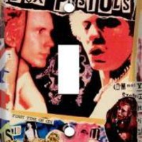 ROCKWORLDEAST - Sex Pistols, Light Switch Cover, Group Photos